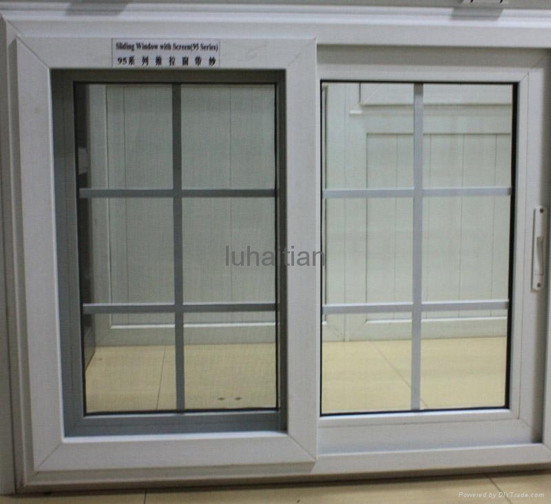 Pvc sliding windows and doors luhaitian china for Window and door manufacturer