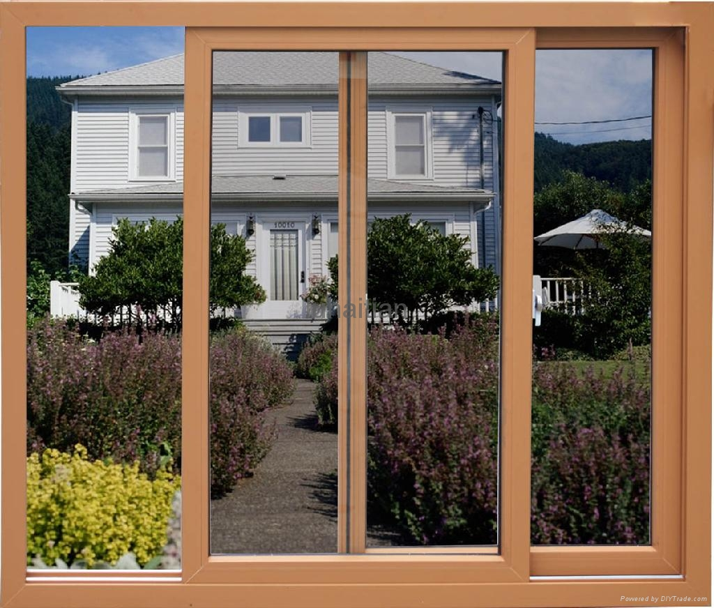 Pvc sliding windows and doors luhaitian china for Sliding glass windows