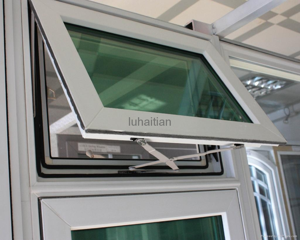 Pvc awning casement window luhaitian china manufacturer for Buy new construction windows online