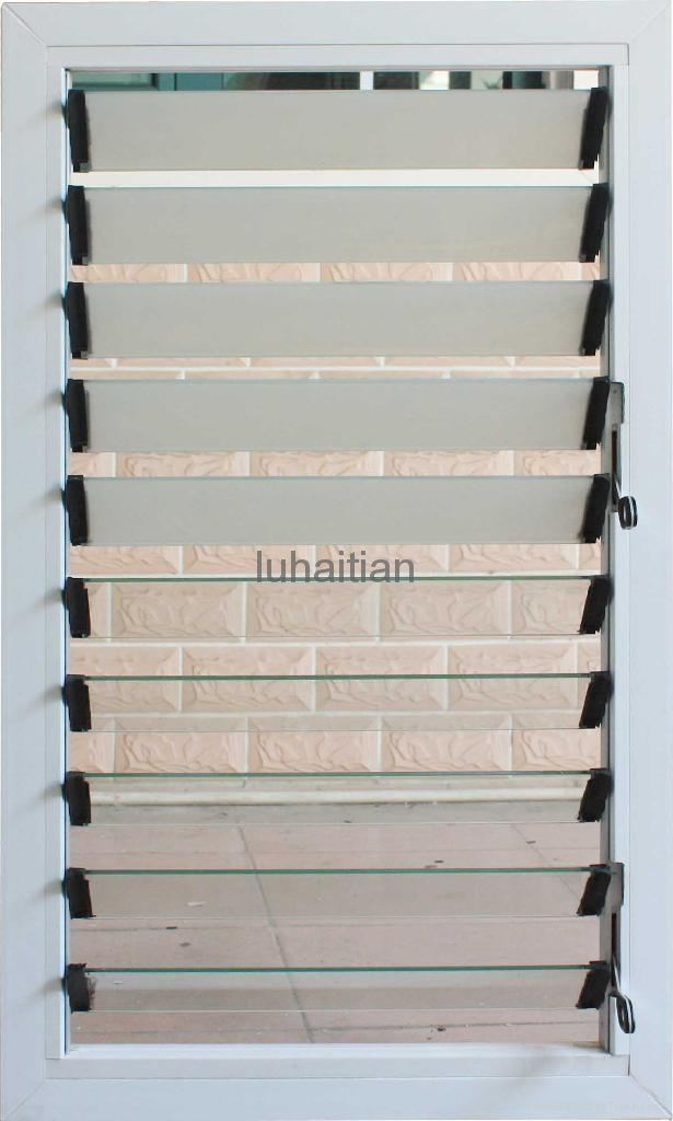 Pvc Louver Shutter Window Luhaitian China Manufacturer