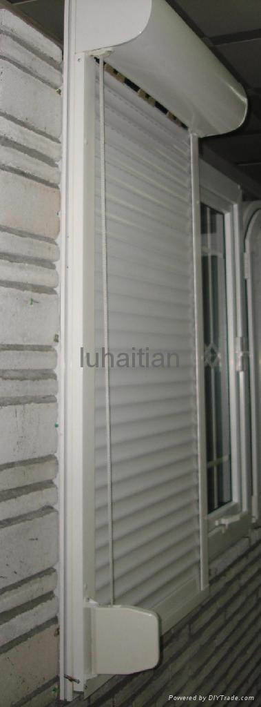 Roller shutter windows and doors luhaitian china for Window door manufacturers