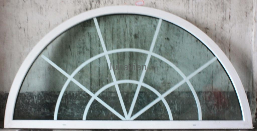 Pvc Window Shapes : Upvc windows special shape luhaitian china manufacturer