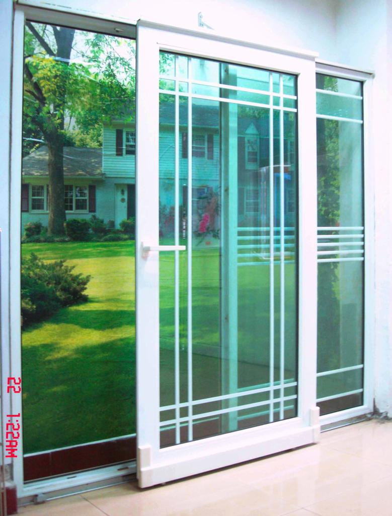 Glass bifold closet doors - Pvc Tilt Sliding Door Luhaitian China Manufacturer Plastic Door