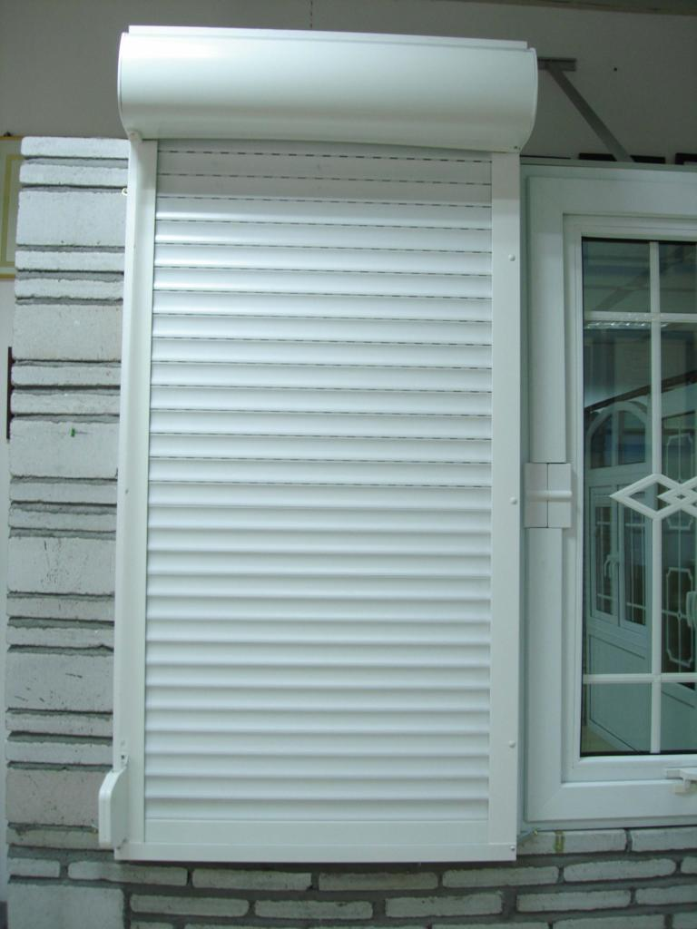 Roller shutter windows and doors luhaitian china for Buy new construction windows online