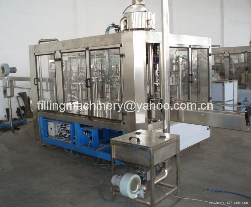 Monoblock Filling Machine for Carbonated Beverage 1