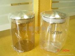 透明小塑料罐