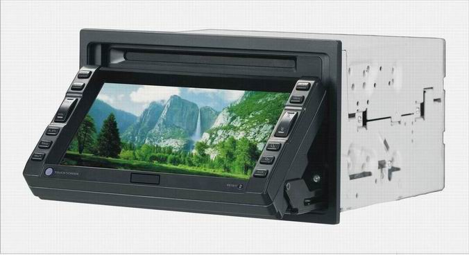 6.5 inch TFT touch screen monitor(slip down modell)(3T-900T) 1