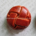 Imitation leather buttons