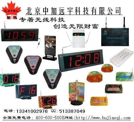 加迅呼叫器产品信息 1