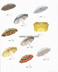 Metal Straight Umbrella