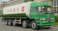 國三解放26.7立方油罐車