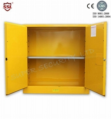 flammable safety storage cabinet with new paddle lock