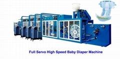 WD-YNK500Full Servo Baby Diaper Machine