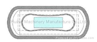 WD-HY900 Full Servo High Speed Sanitary Napkin Machine  2