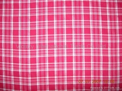 Cotton Yarn-Dyed Fabric with Spandex