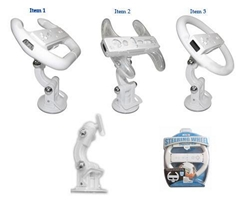 Wii Steering Wheel with Multi-angle Stand
