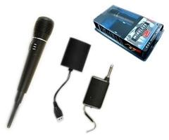 Wii/PS3 2in1 wireless KARAOKE MICROPHONE
