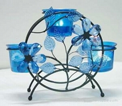 Candle Holder,  Crystal, various Arts & Crafts