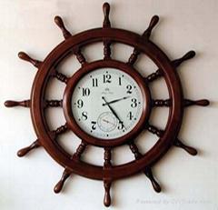 Wooden Clock, Table Clock, Wall Clock, Antique Clock