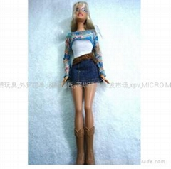 建信玩具——無外盒-MATTEL絕對正版芭比娃娃-青春美少女