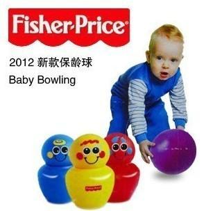 费雪Fisher Price正品不倒翁保龄球二合一玩具 颜色 3