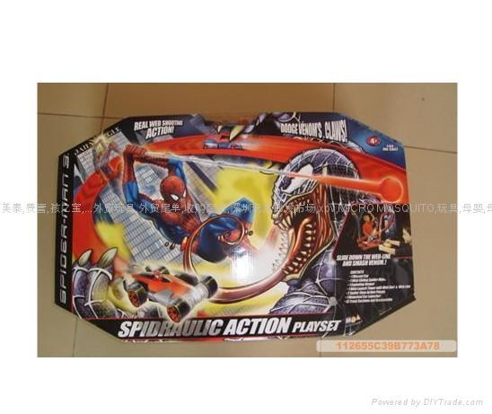 建信玩具——蜘蛛侠3轨道车