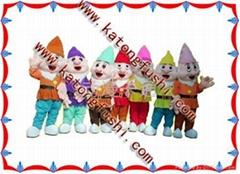 供应动漫卡通人偶服装产品系列/小矮人
