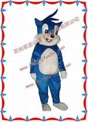 供应动漫卡通人偶服装/蓝猫