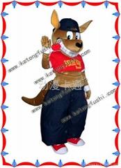 供应动漫卡通人偶服装产品/袋鼠