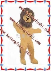 低价出售卡通服装/卡通人偶/卡通服饰/狮子