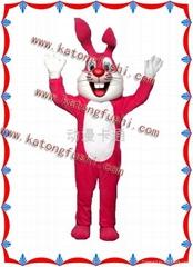 供应卡通服装/卡通服饰/卡通人偶/红娘兔