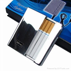 rechargeable electric cigarette case lighter