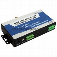 GSM SMS Switch Controller, 2 I/O, USB Port