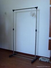 不鏽鋼室內門廳晾衣架