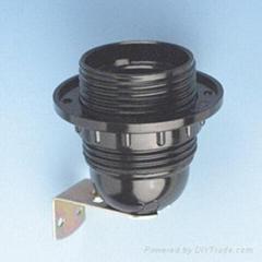 歐規E27電木全牙/半牙燈頭