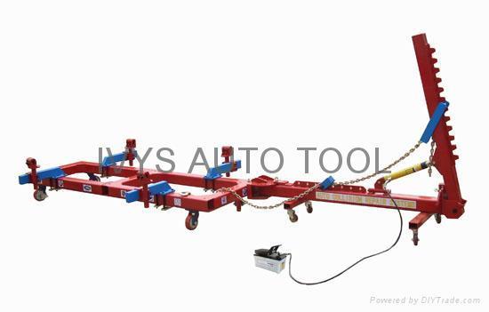 frame straightening machine