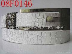 Women's PU belt