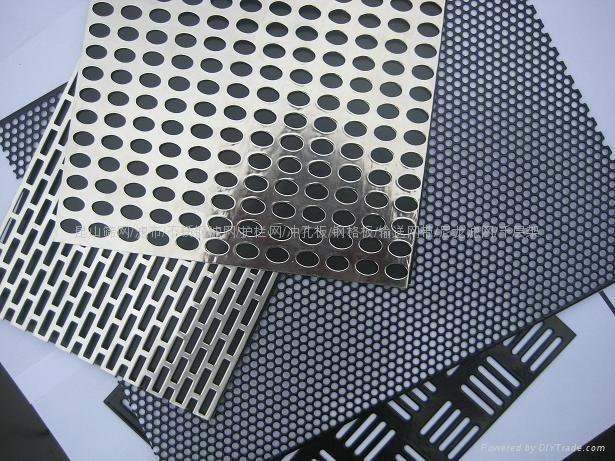 昆山不锈钢冲孔板圆孔网 1