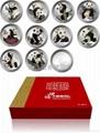 世博大熊猫银章套装 2