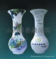 国瓷2008 扁豆双禽瓶