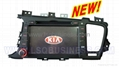 for KIA K5 car dvd player with gps and
