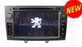for PEUGEOT 408 car dvd player with gps