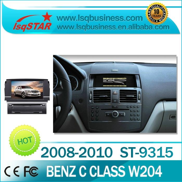 Wholesale GPS navigation for Mercedes Benz W204 With special Mercedes menu,BT 1