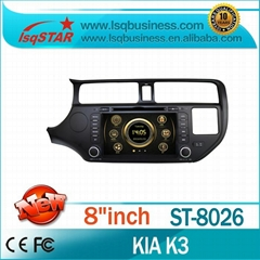 Car Audio KIA K3 / Rio (2012-2013) with GPS Radio DVD 3G.Wholesale