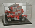 diecast car , acrylic display case