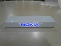 Nokia display stand with LED