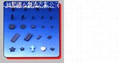 Anisotropc dry type magnet