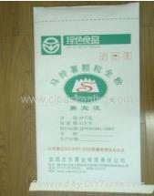 Paper-plastic composite bags