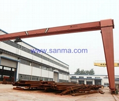 Model MH Electric Hoist Gantry Crane