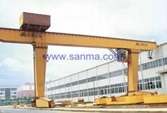 Model L Single-beam Hook Gantry Crane